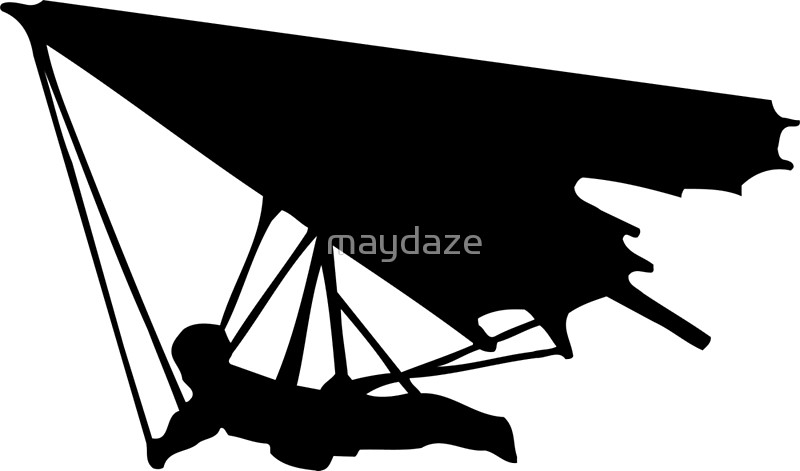 Hang Glider Silhouette at GetDrawings.com.