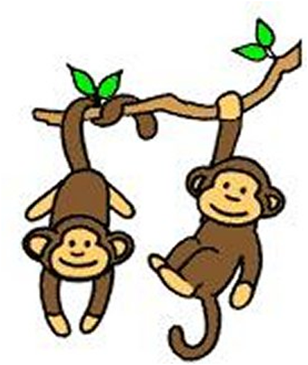 Free Hanging Monkey, Download Free Clip Art, Free Clip Art.