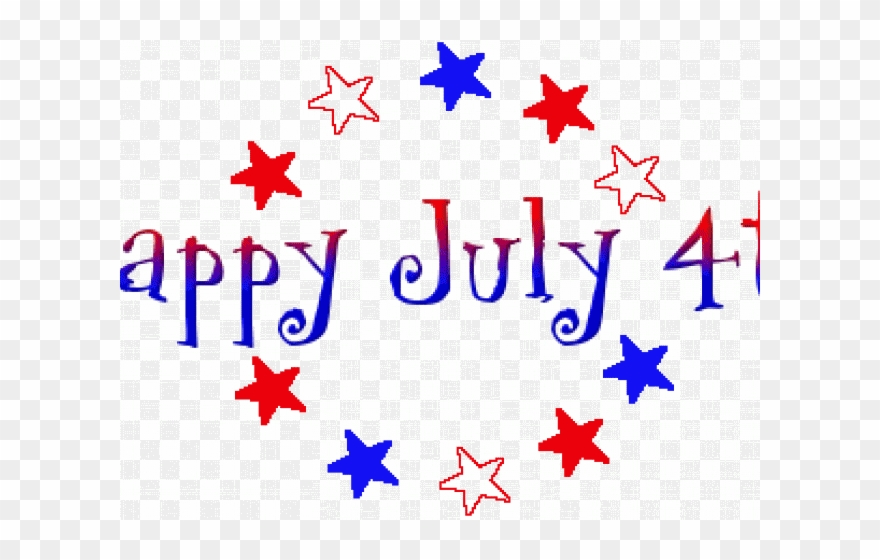 Animation Clipart 4th July.