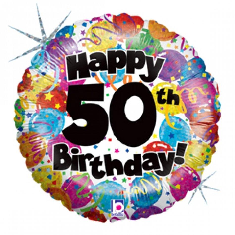Happy 50th Birthday N6 free image.