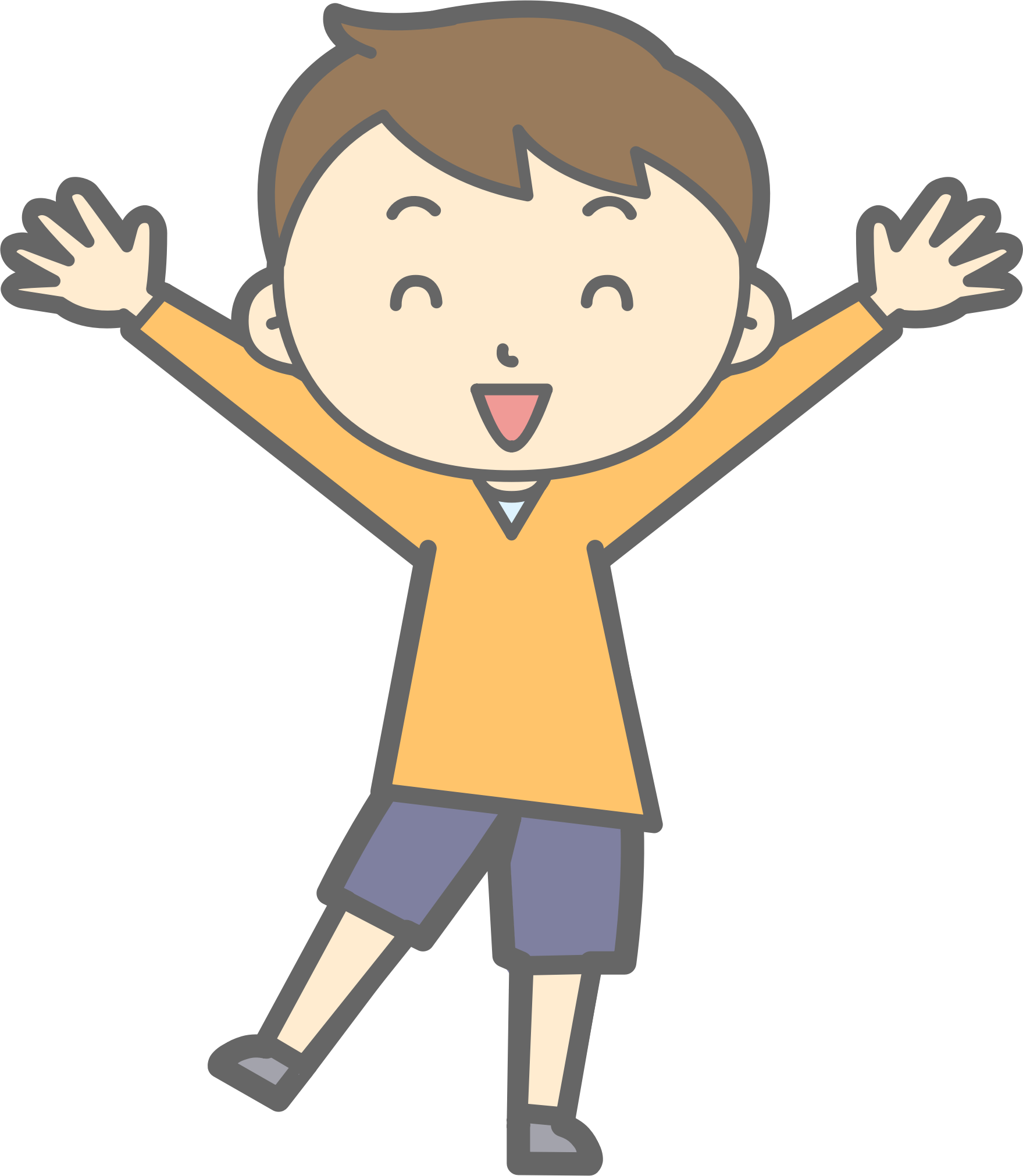 Cliparts Happy Boy Free Download Clip Art.