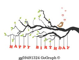 Happy Birthday Clip Art.