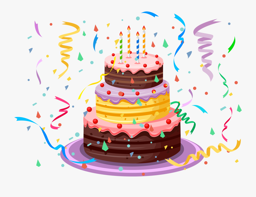 Transparent January Birthdays Clipart.