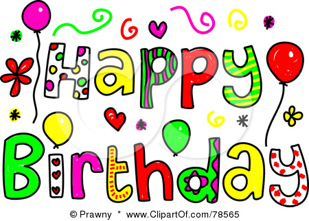 Free Happy Birthday Clipart For Her.