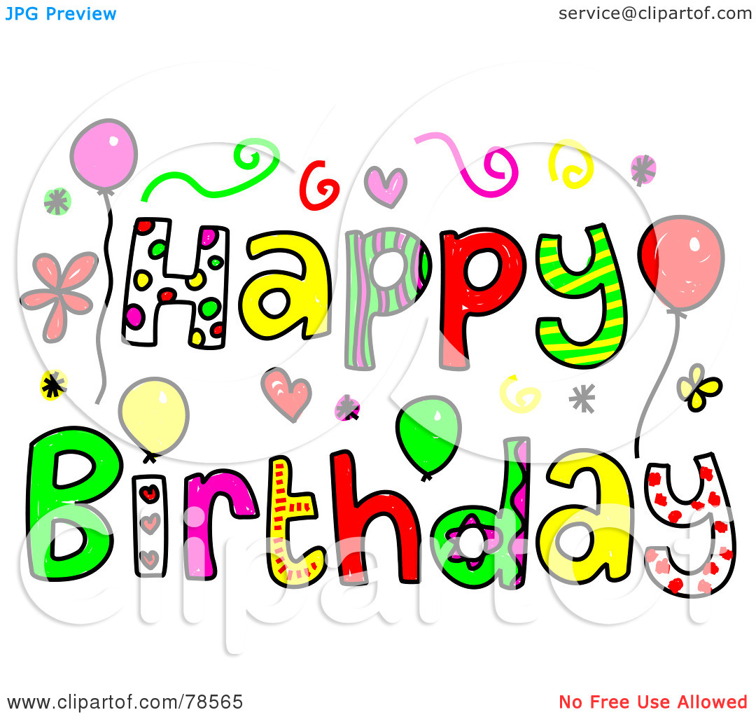 Happy Birthday Clipart.