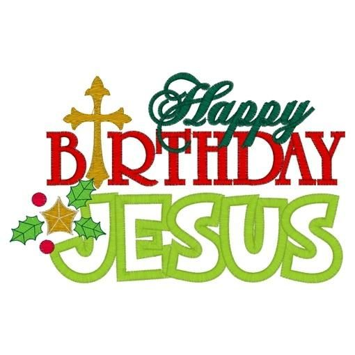 Happy Birthday Jesus.