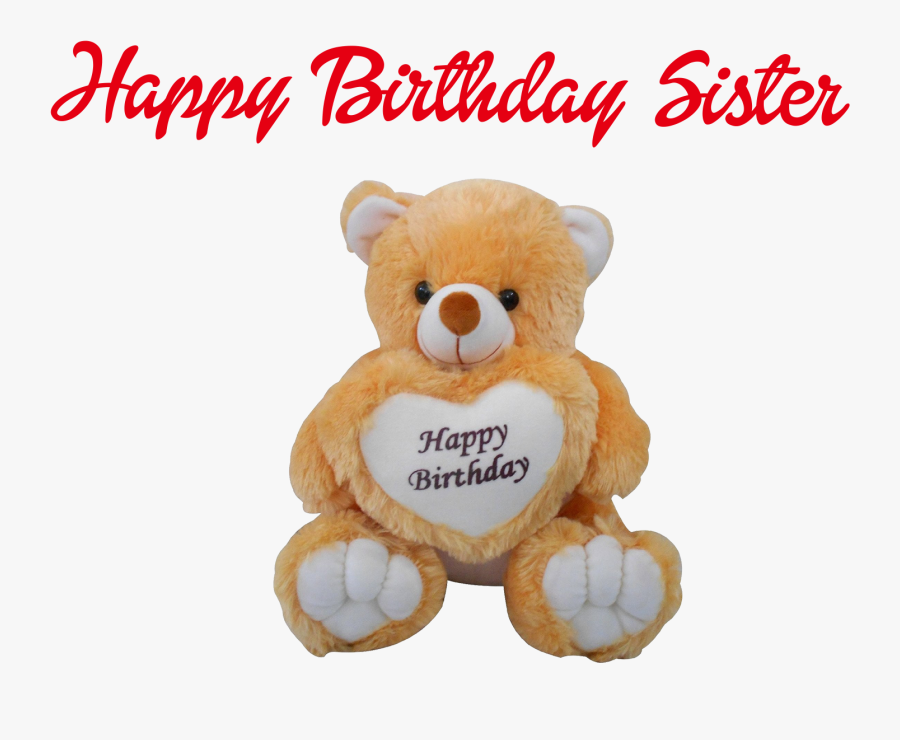 Happy Birthday Sister Png Clipart.