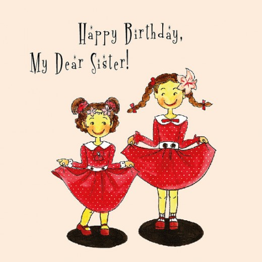 Happy Birthday Wishes and Quotes for Your Sister.