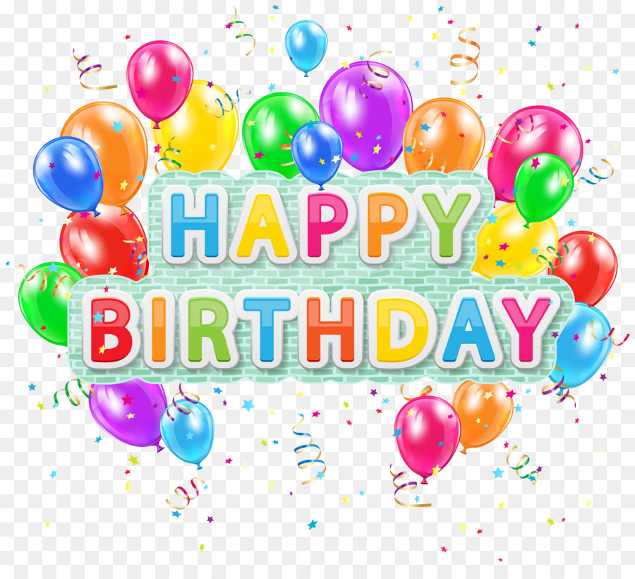 Happy Birthday Text clipart.