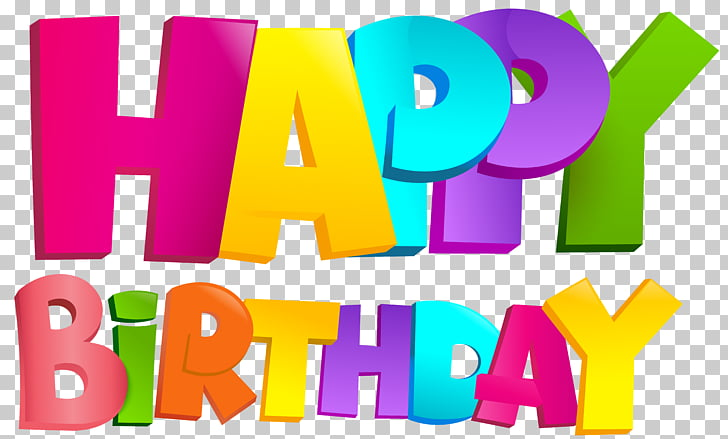 Paper Birthday Scrapbooking, Colorful Happy Birthday.