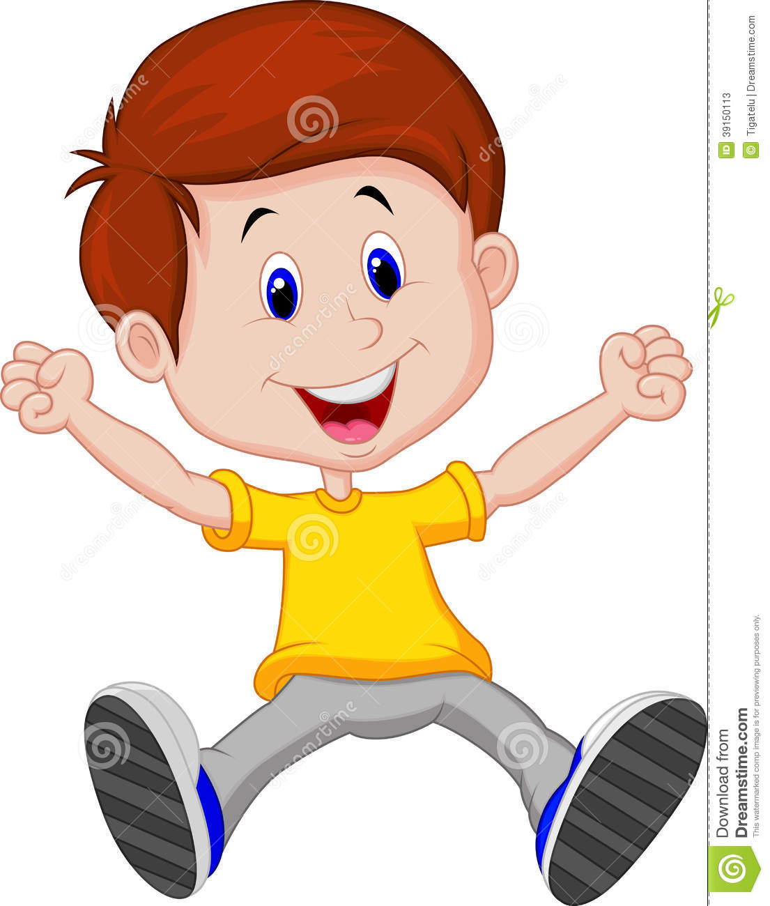 Happy boy clipart 7 » Clipart Station.