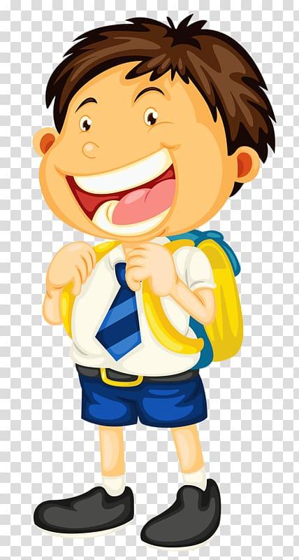 Student School uniform Child , happy boy transparent.