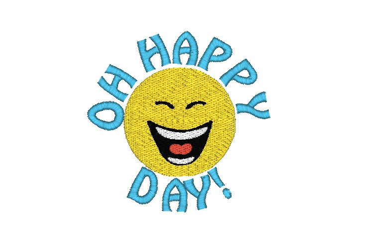 Oh happy day clipart.