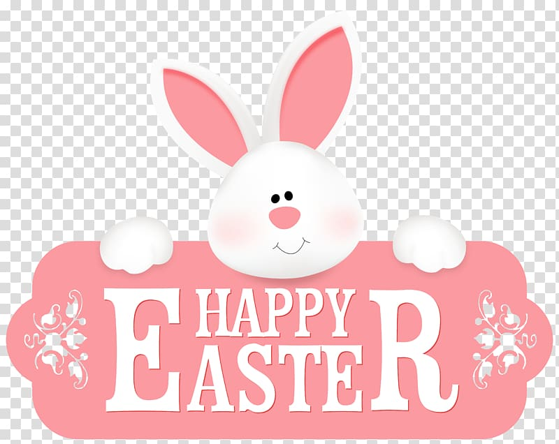 Happy Easter illustration, Easter Bunny , Happy Easter with.