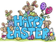 7823 Happy Easter Clipart Graphic Free Clip Art Images > ClipartWar.