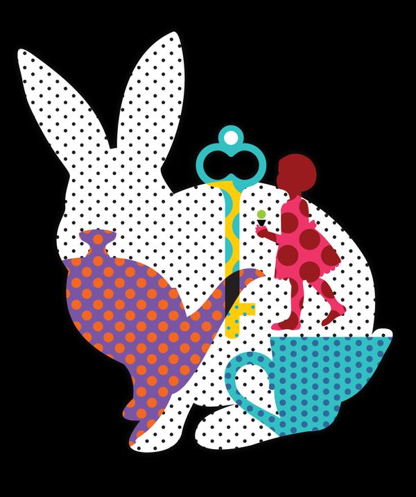 Sensational T shirt design Easter Menu + Tee by Vanessa Gong, via.