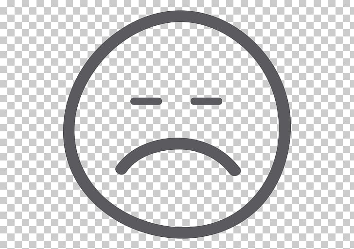 Smiley Face Emoticon Sadness , sad emoji PNG clipart.