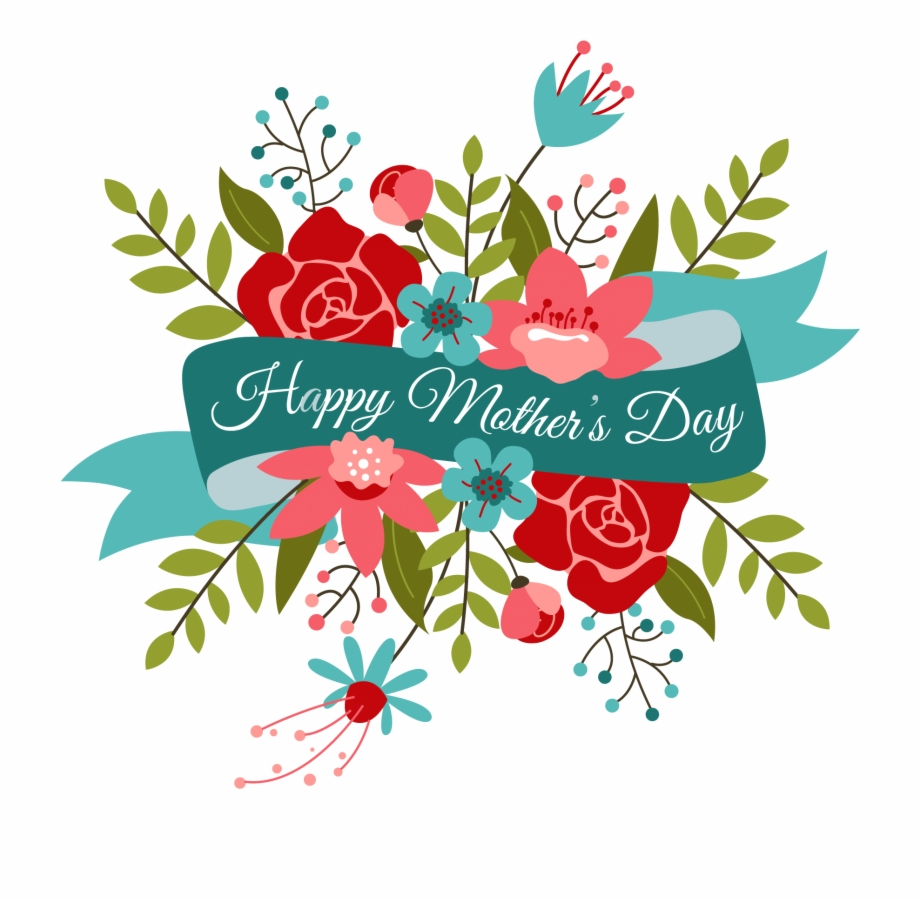 Happy Mothers Day Bouquet Happy Mother Day Clipart.