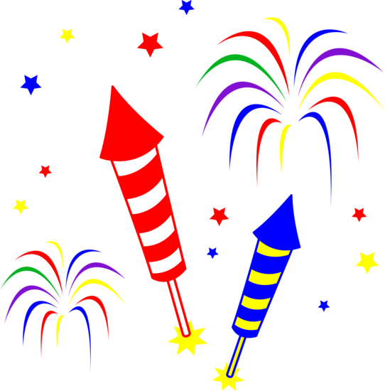 Fireworks Clip Art Free.
