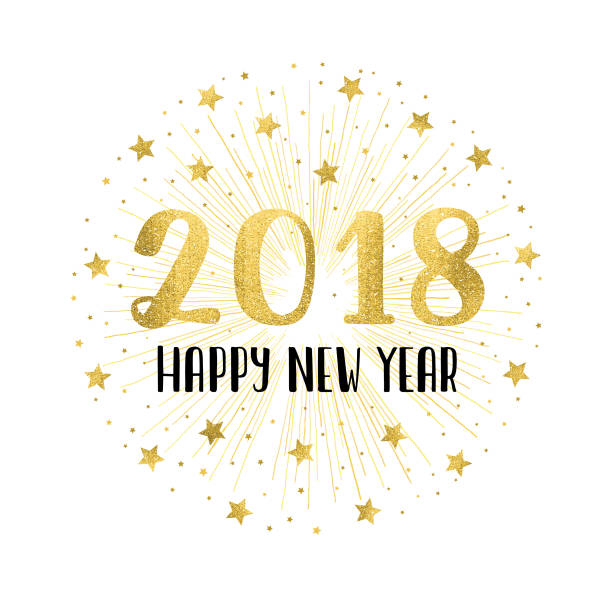 Clipart happy new year 2018 3 » Clipart Station.