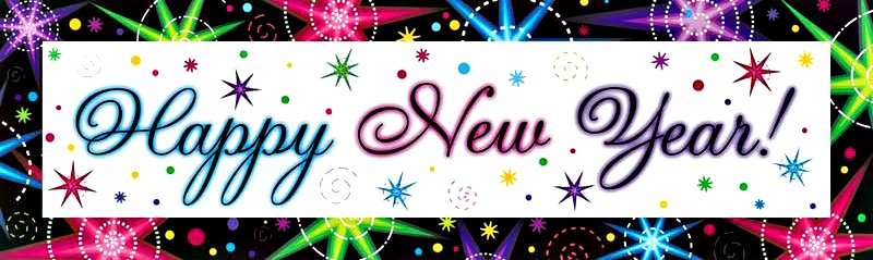 Happy New Year Banner Clipart Free Pictures #34648.