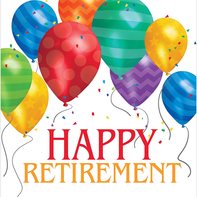 Balloons Clipart Retirement.