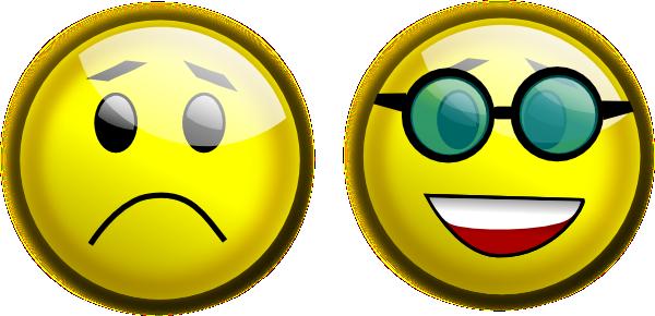 Smiley Glasses Sad Clip Art at Clker.com.