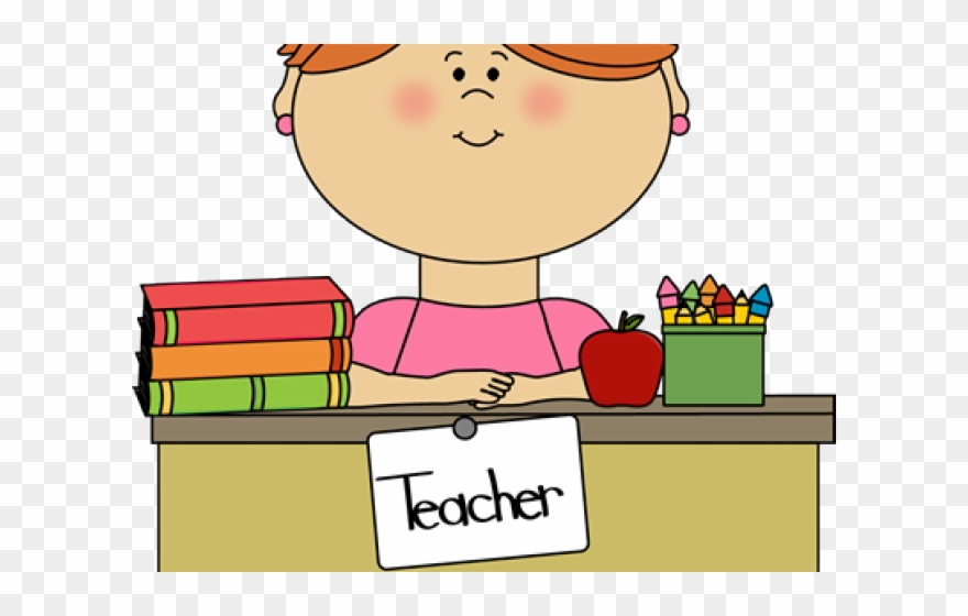 Happy Teacher Clip Art.