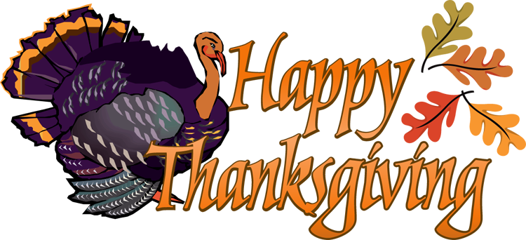 Thanksgiving clip art banner.