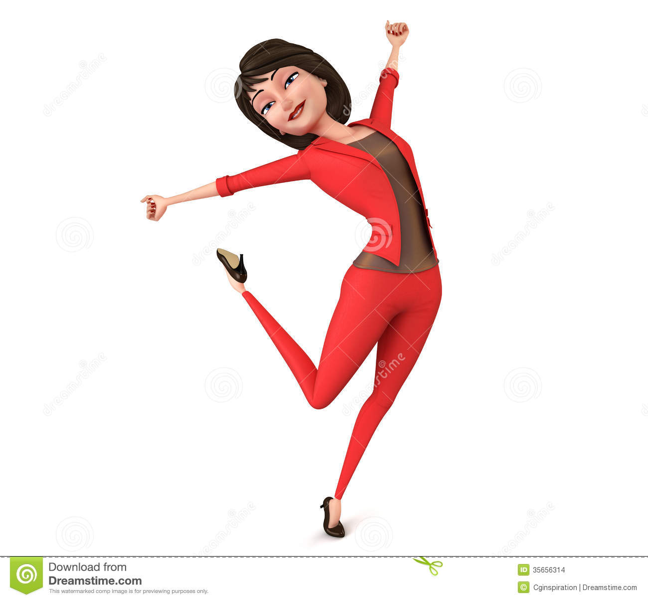Happy Woman Clipart Free.