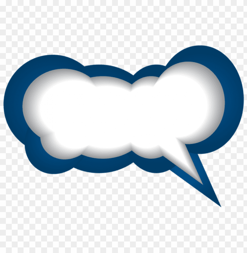 Download speech bubble blue white clipart png photo.