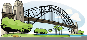 Harbour Bridge Clipart.