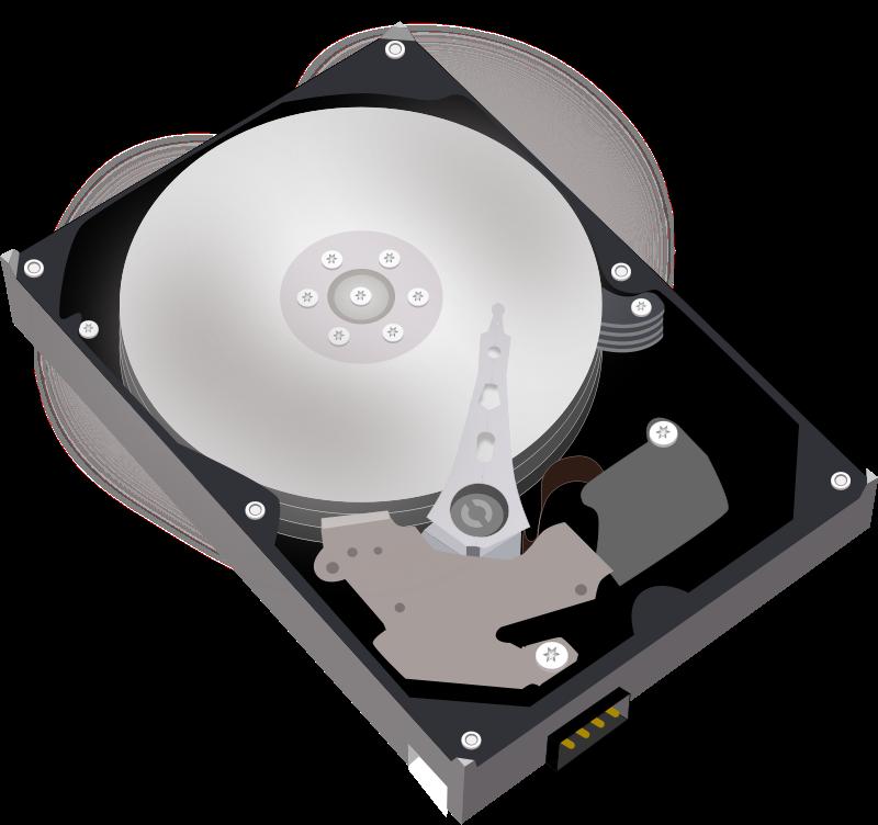 Free Clipart: Hard disk Harddisk HDD.