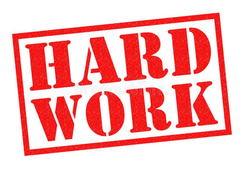 Hard Work Stock Illustrations.