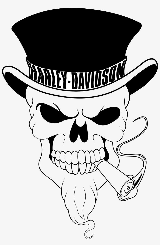 Ssckull Clipart Harley.