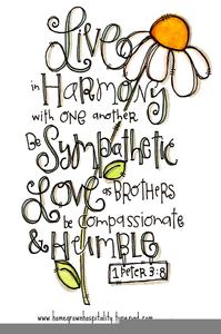 Peace And Harmony Clipart.