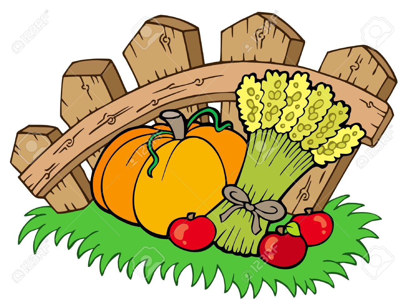 Harvest clipart 7 » Clipart Station.