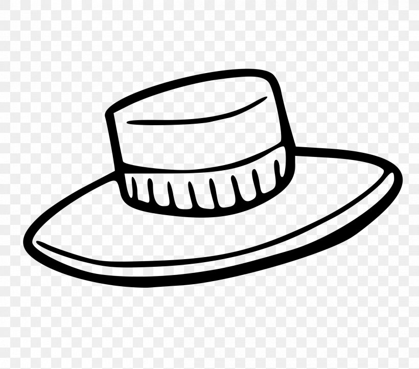 Top Hat Cap Clip Art, PNG, 2400x2116px, Hat, Black And White.