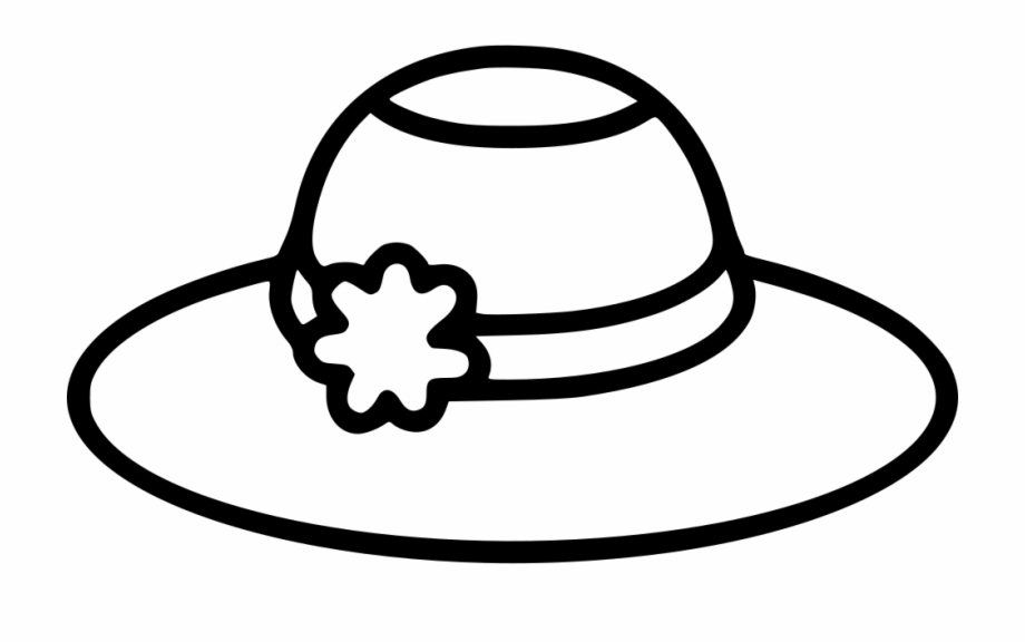 Free Winter Hat Clipart Black And White, Download Free Clip.