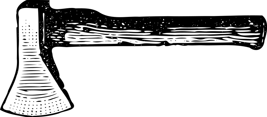 Download Hatchet SVG Clipart #12791.