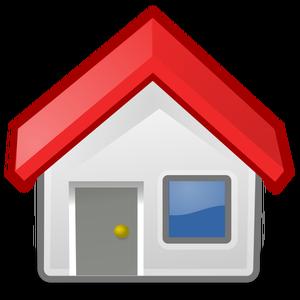 1518 free clipart farm house.
