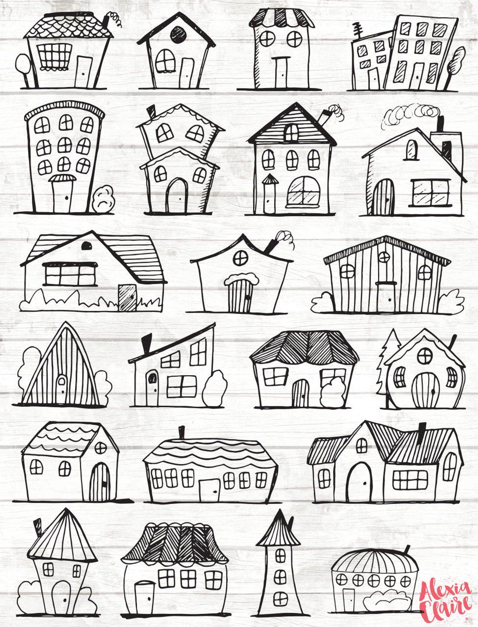 Doodle Haus Clipart.