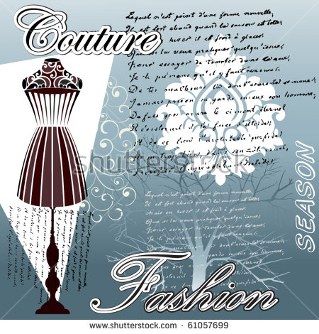 Haute Couture Stock Vectors, Images & Vector Art.