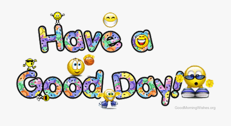 Clip Art Morning Wishes Have A.