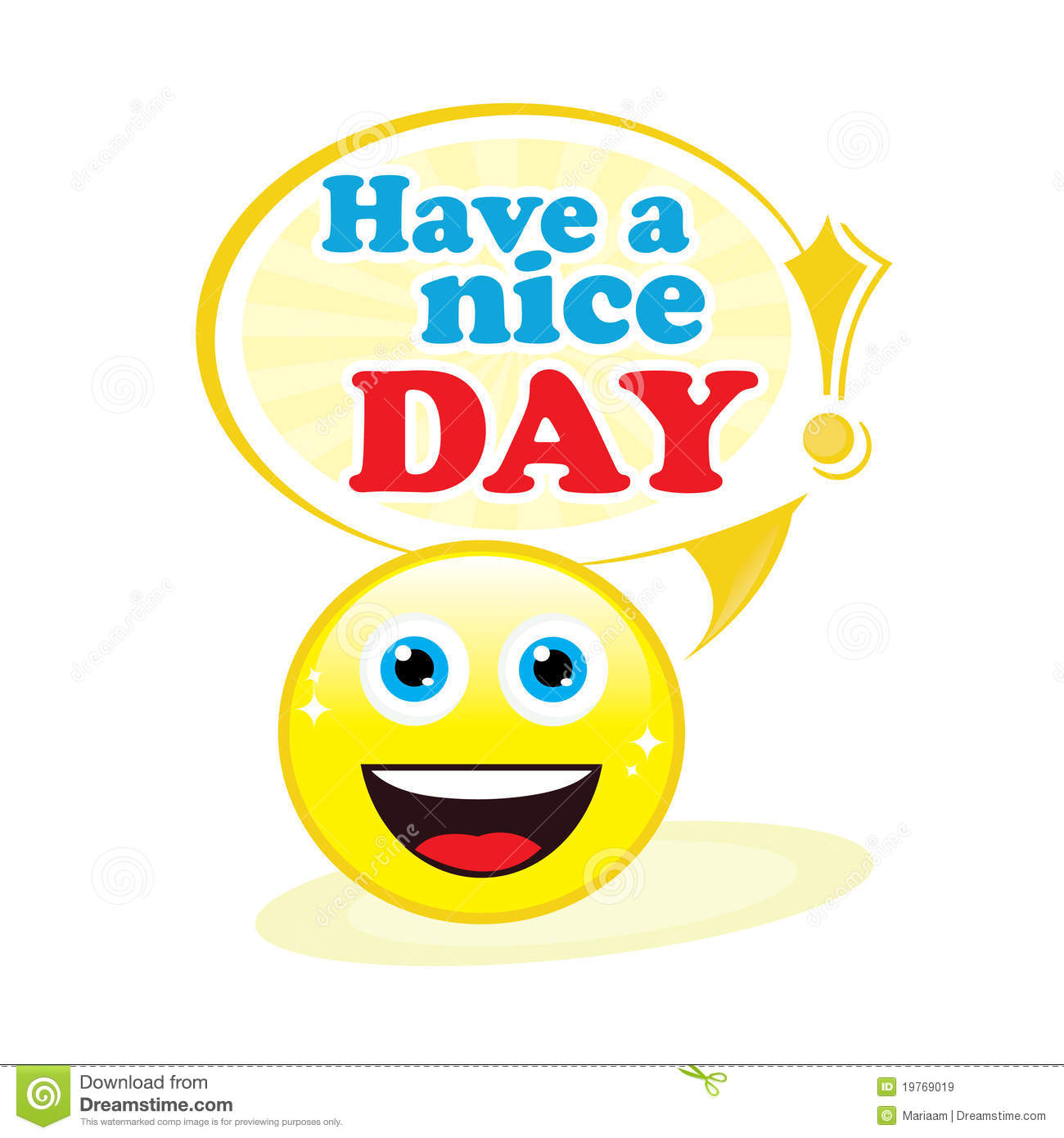 Have A Nice Day Clipart.