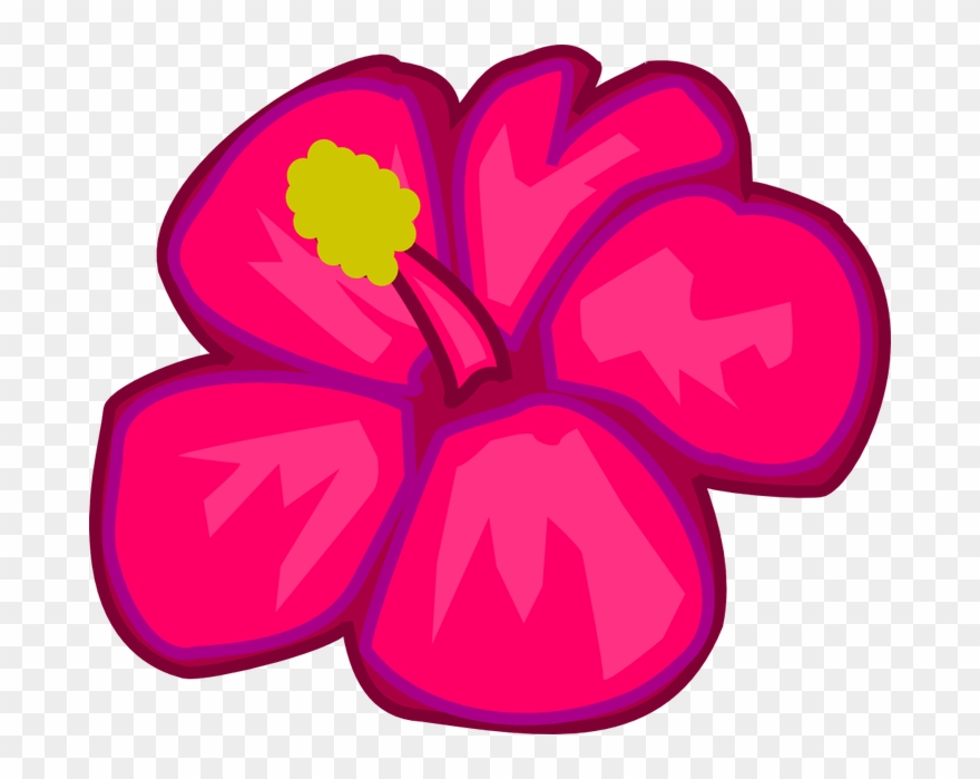 Hawaiian Flower Clipart Hawaiian Flower Clip Art Clipart.