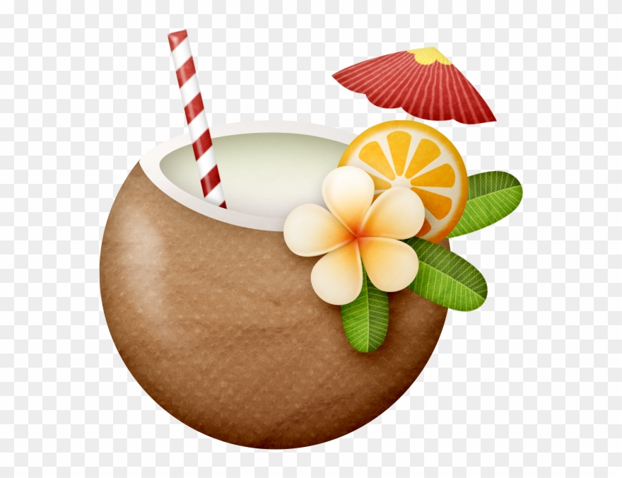 Coconut Clipart Hawaii.