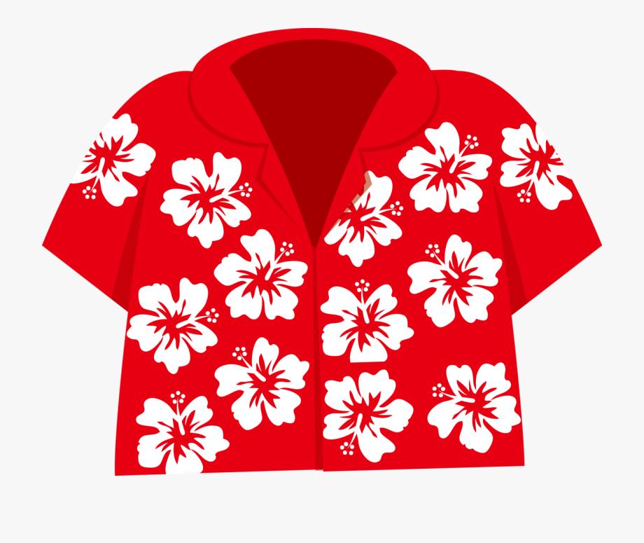 Hawaiian Aloha Tropical Summer Clipart, Tropical Paradise.