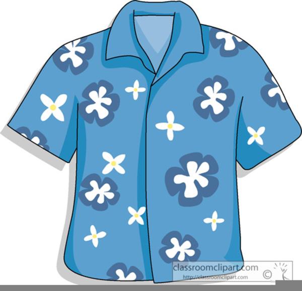 Clipart Hawaiian Shirt.