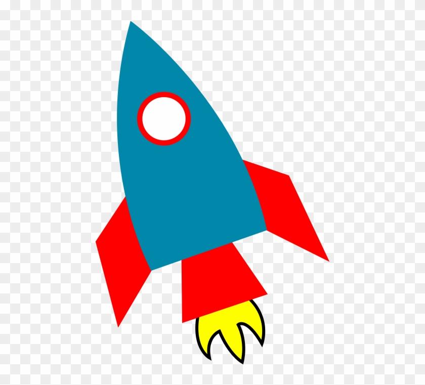 Rocket Ship Background.